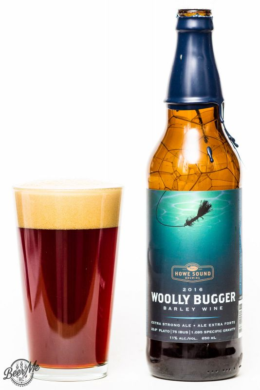 Howe Sound Brewing 2016 Wooly Bugger Barley Wine Review