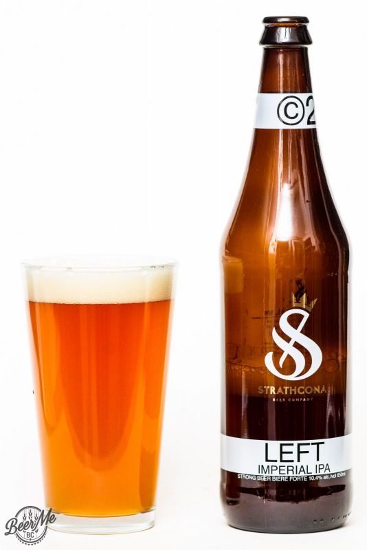 Strathcona Brewing Left Imperial IPA Review