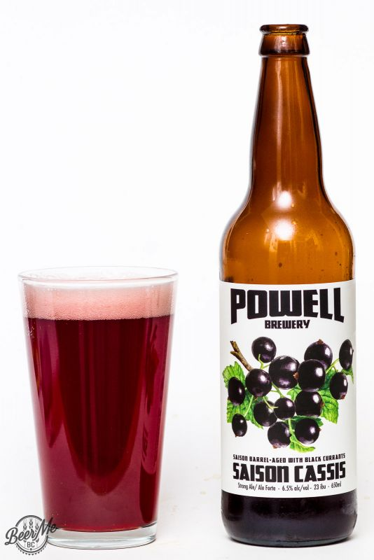 Powell Brewery - Cassis Saison Review