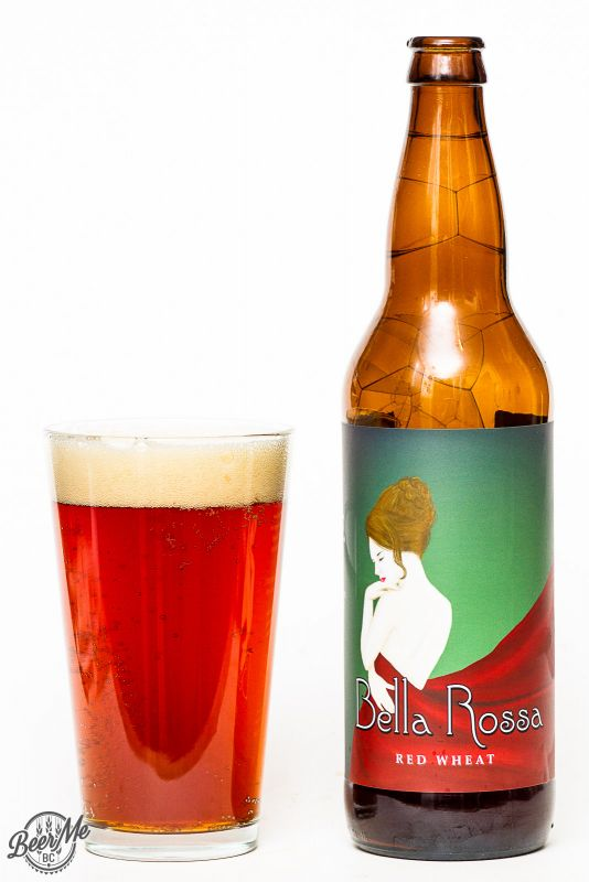 Fuggles & Warlock and Moody Ales - Bella Rosa Red Wheat Ale Review