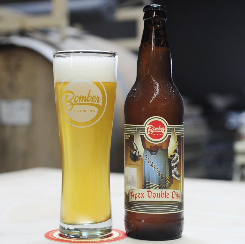 Bomber Brewing Apex Double Pilsner