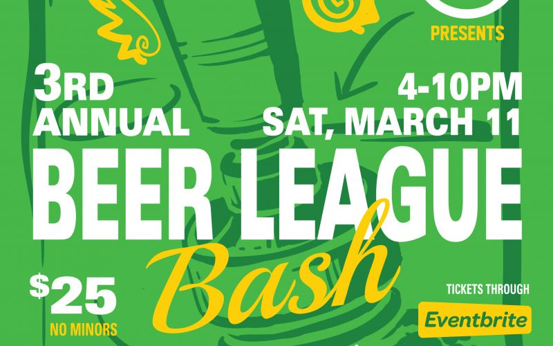 3rd Annual Beer League Bash Takes Place March 11, 2017