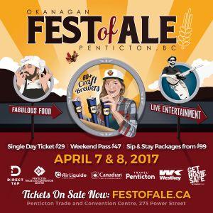 Okanagan Fest of Ale 2017 Poster