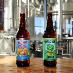 Central City Brewing New Hopping Mad Cider and Red Racer Lemon Groove