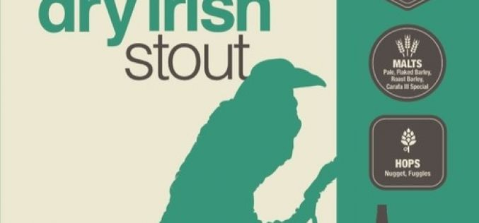 Ravens Brewing Co. Dry Irish Stout Returns