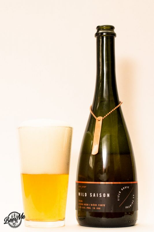 Field House Brewing Company One Year Wild Saison