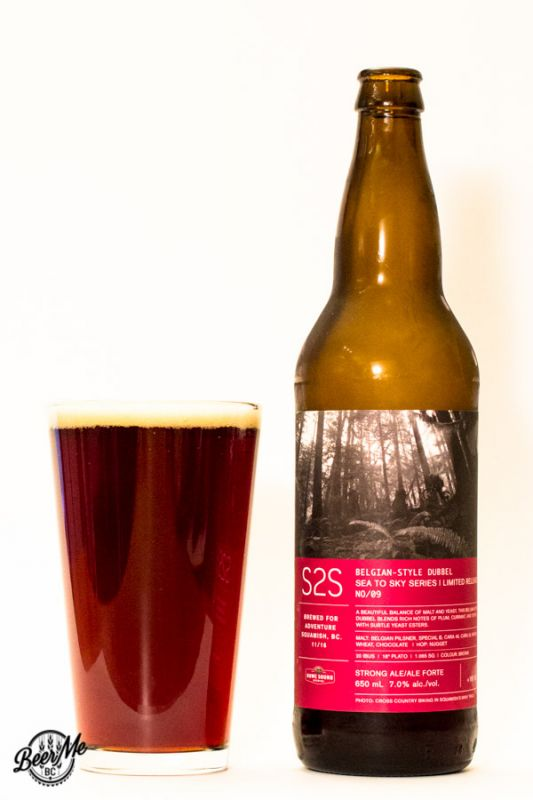 Howe Sound Brewing Co Sea to Sky Belgian Dubbel