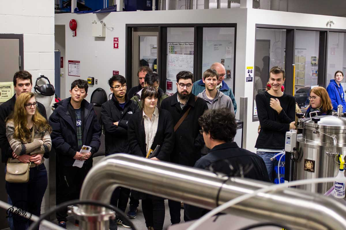 KPU Brewing Program Open House 2017 Tour
