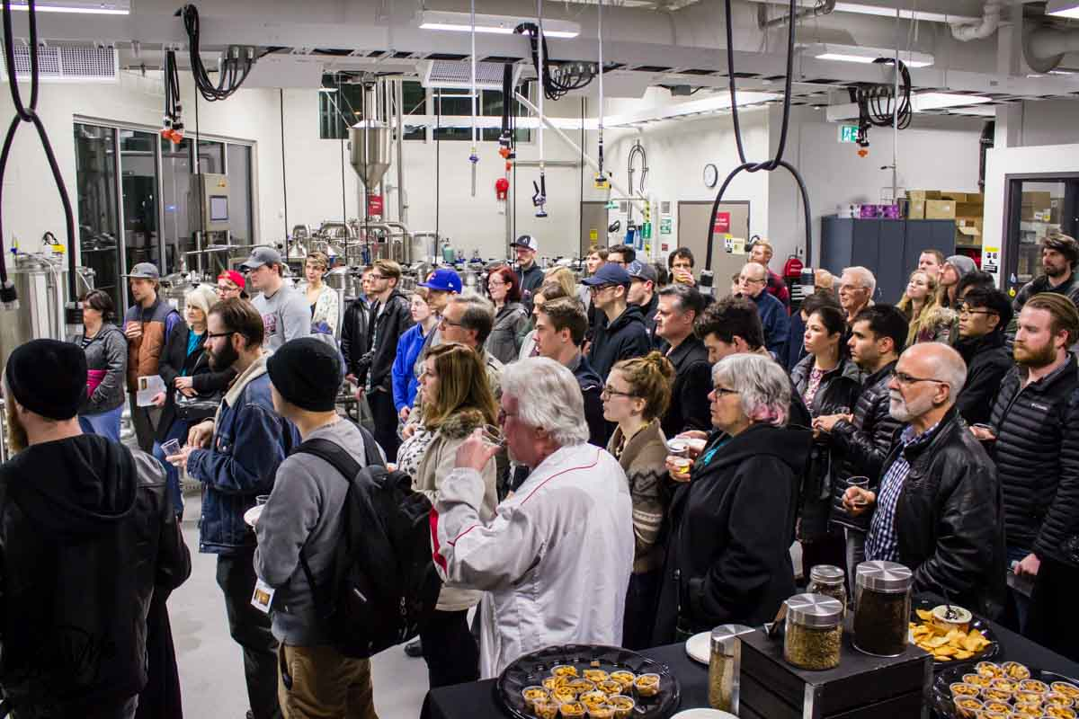 KPU Brewing Program Open House 2017 Intent Crowd