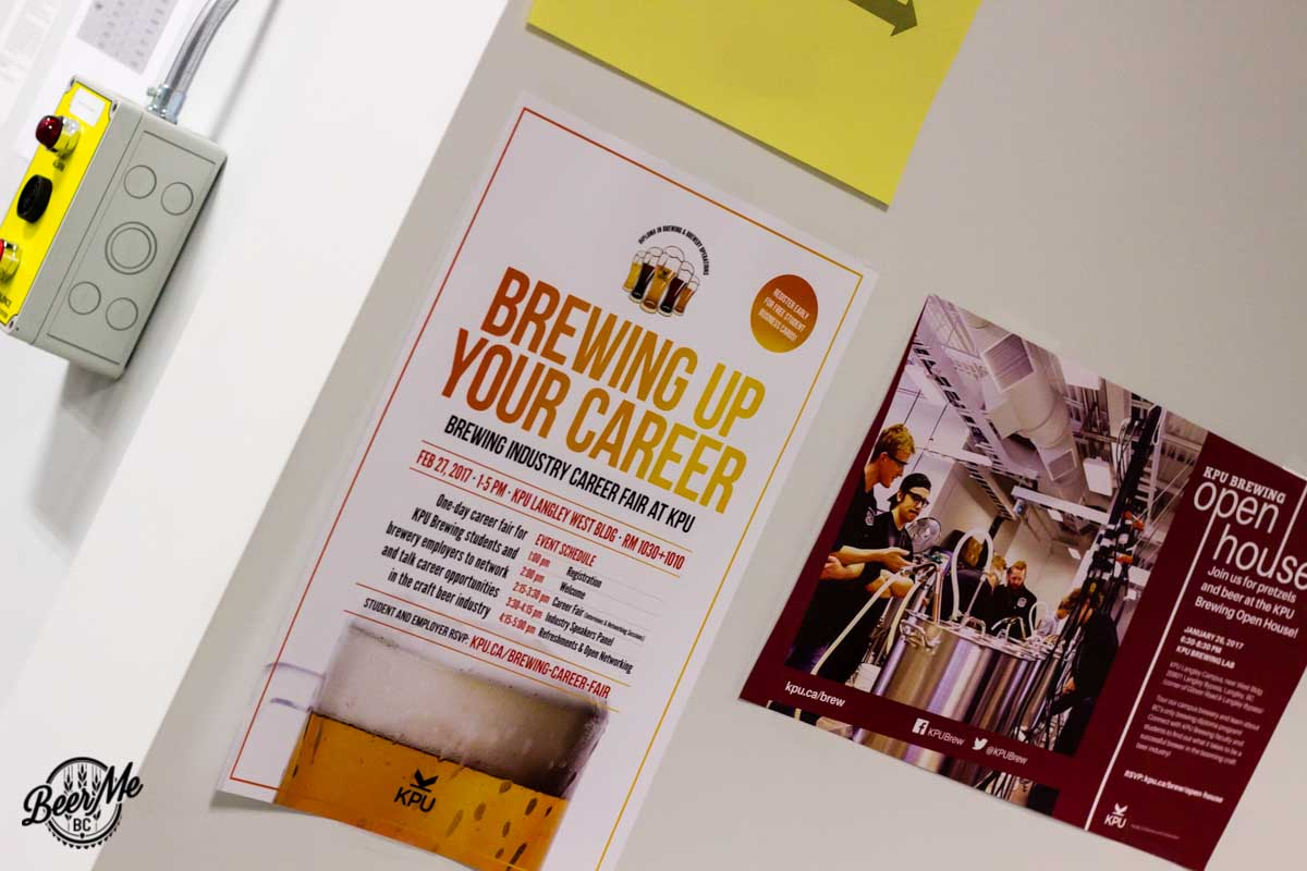 KPU Brewing Program Open House 2017 Posters