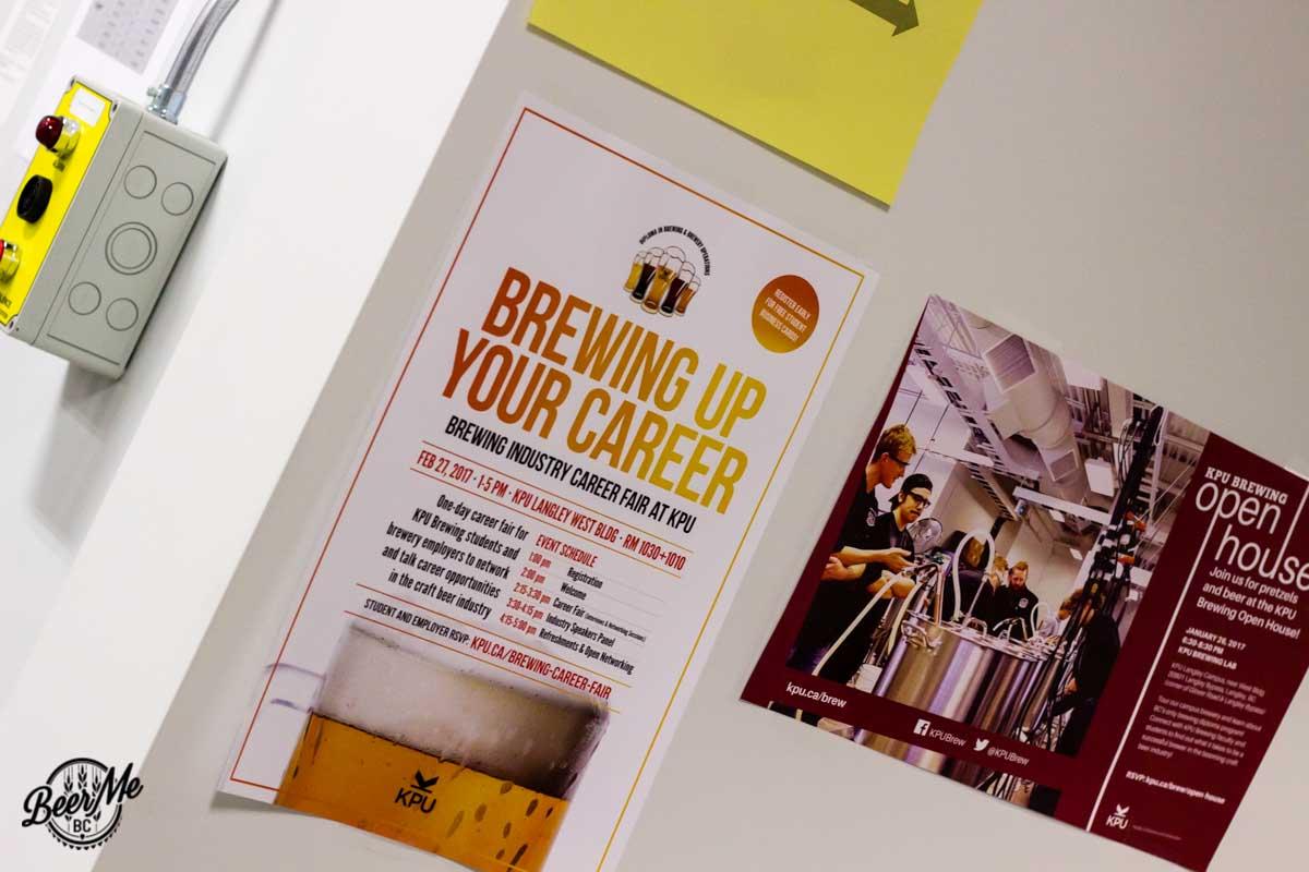 KPU Brewing Program Open House 2017 Posters