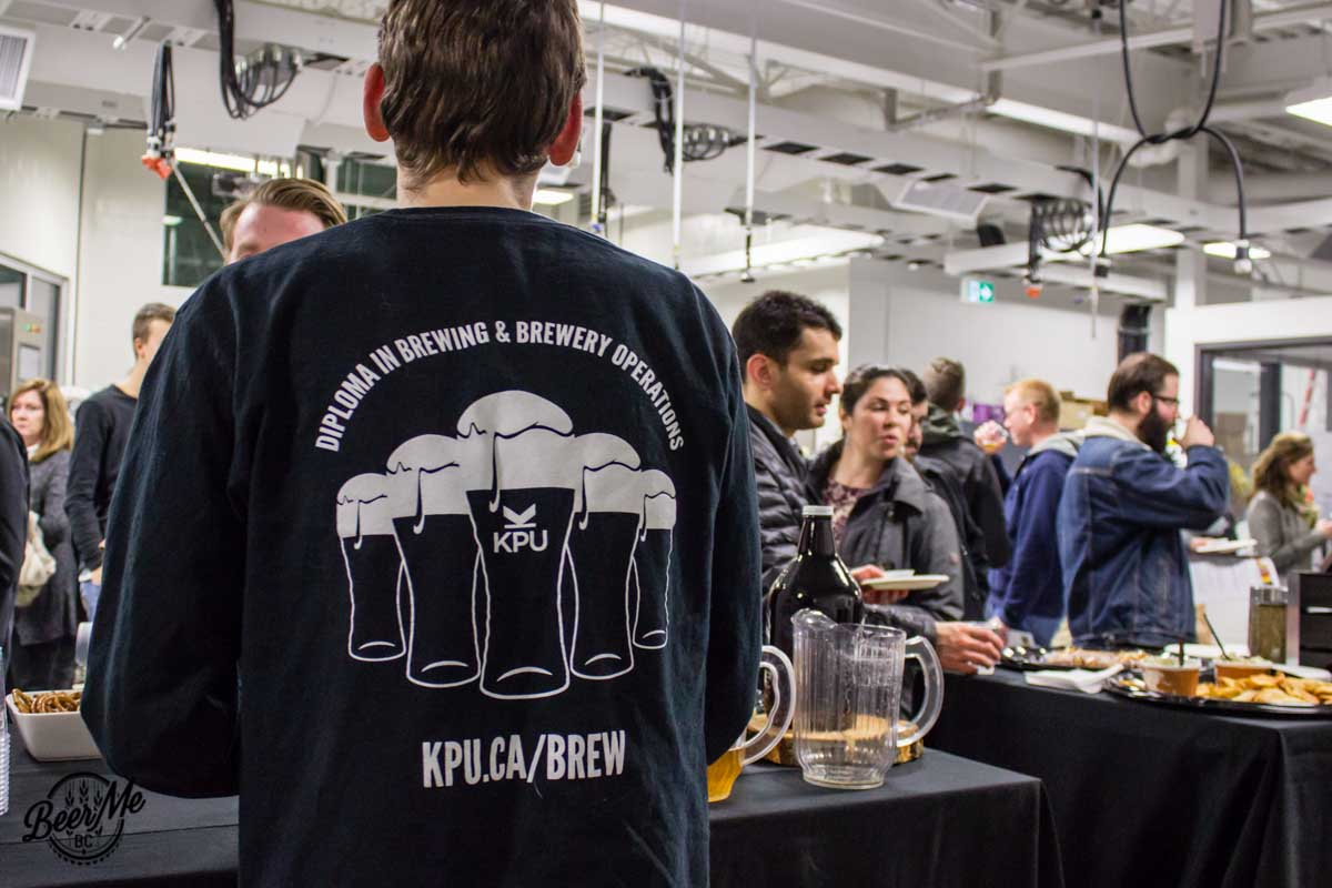 KPU Brewing Program Open House 2017 Student Program Shirt