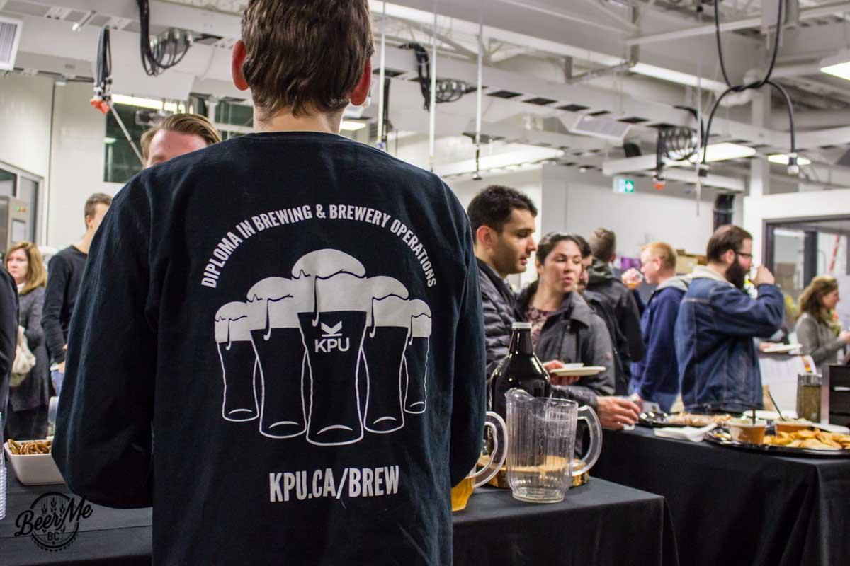 KPU Brewing Program Open House 2017 Student Program Shirt