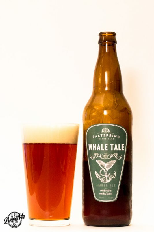 Saltspring Island Ales Whale Tale Amber Ale
