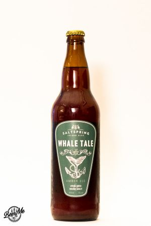 Saltspring Island Ales Whale Tale Amber Ale Bottle