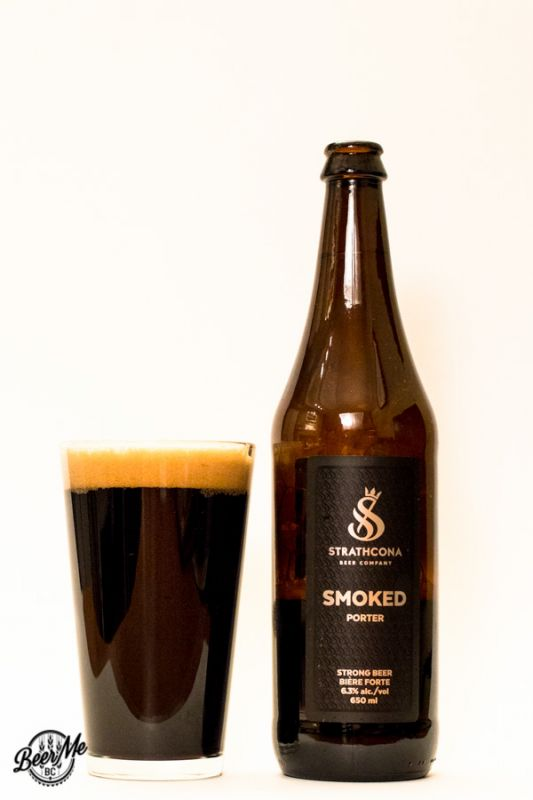 Strathcona Beer Company Smoked Porter