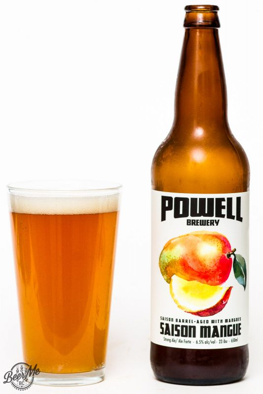 Powell Brewery Mangue Saison Review