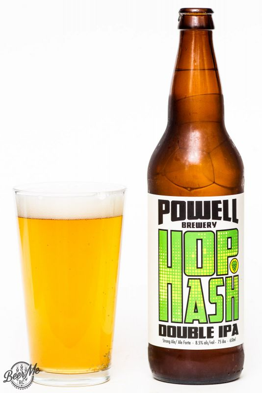 Powell Brewery Hop Hash Double IPA Review