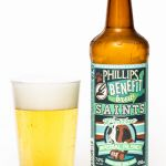 Phillips Brewing Benefit Brew Saints Imperial Pilsner Review