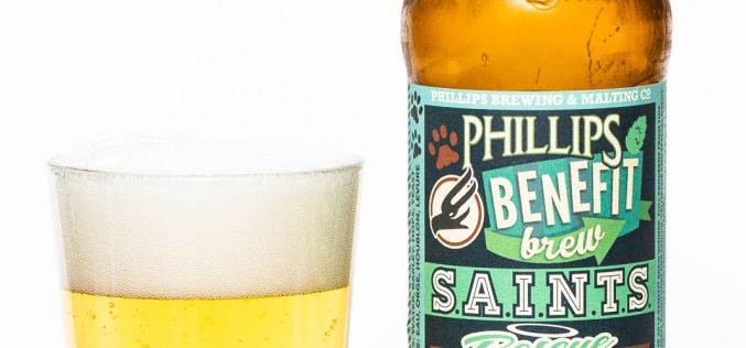 Phillips Brewing Co. – Benefit Brew Saints Rescue Imperial Pilsner