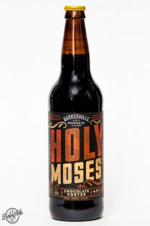 Barkerville Brewing Holy Moses Chocolate Porter Review