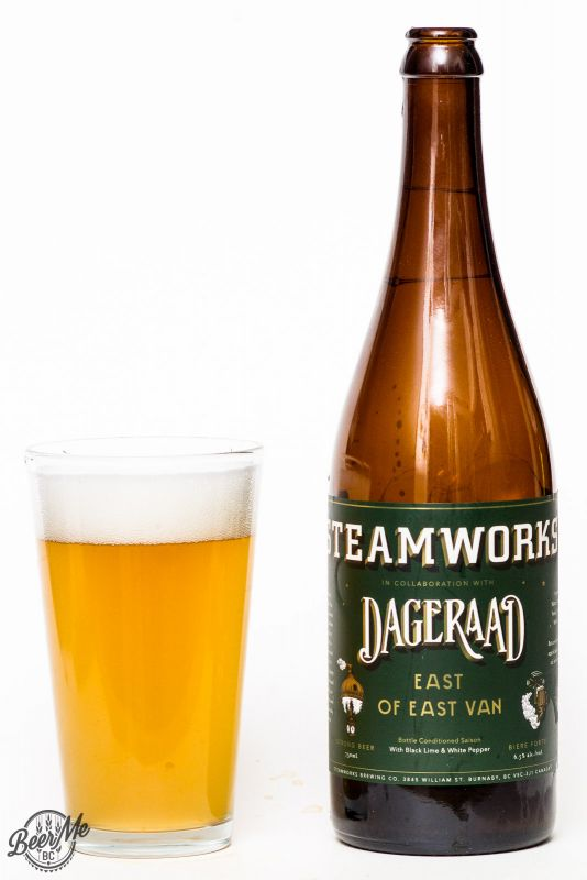 Steamworks & Dageraad Brewing East of East Van Collaboration Ale Review