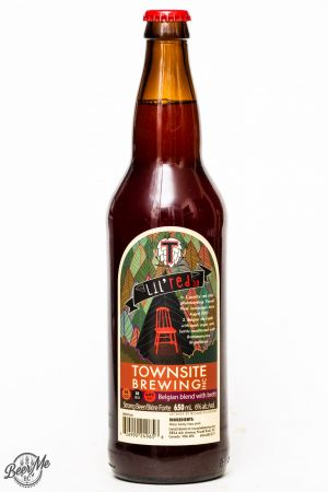 Townsite Brewing Lil Red 3.0 Brett Belgian Ale Review