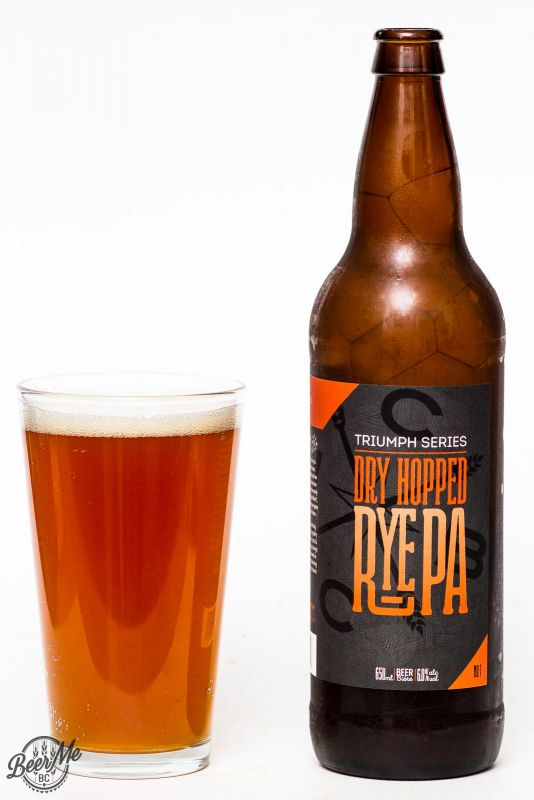 Coal Harbour Brewing Dry Hopped Rye PA Review