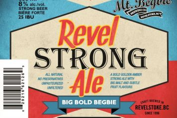 Revel Strong Ale Released by Mt Begbie Brewing