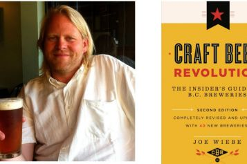"""Joe Wiebe, the """"Thirsty Writer"""" Tours the Okanagan on Craft Beer Journey April 4-8"""