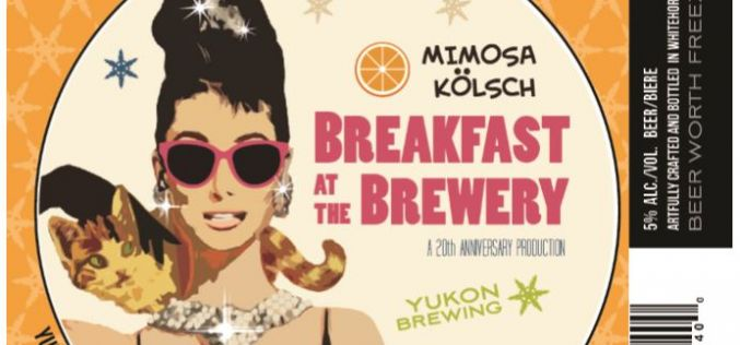 "Yukon's ""Canada 150 Series"" Releases Mimosa Kolsch as March Brew"