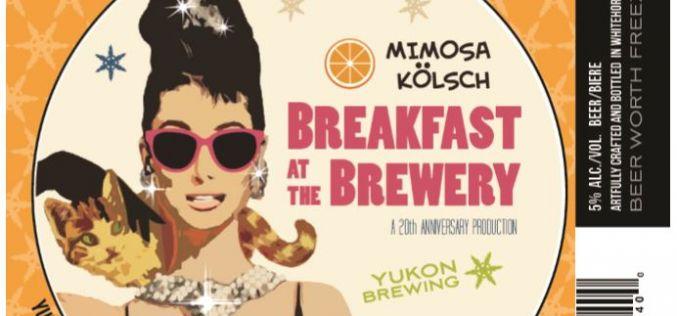 "Yukon's ""Canada 150 Series"" Releases Mimosa Kolsch as March Brew"