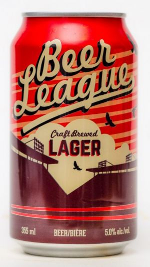 Central City Brewing Beer League Lager Can