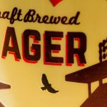 Central City Brewing Beer League Lager Label Close-up