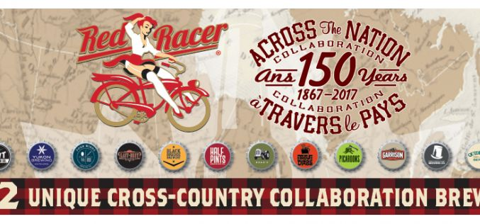 Central City Brewing Announces Red Racer Canada 150 National Collaboration 12 Pack