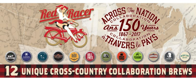 Central City Brewing Across the Nation Collaboration 12 Pack Banner