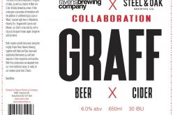 Ravens Brewing Announces Collaboration Graff with Steel & Oak