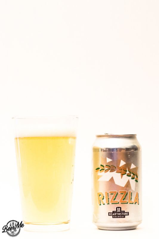 Hearthstone Brewery Rizzla Rice Lager