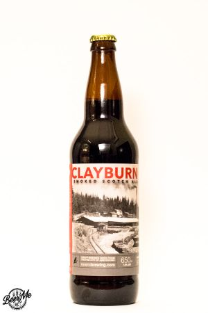 Ravens Brewing Clayburn Smoked Scotch Ale Bottle