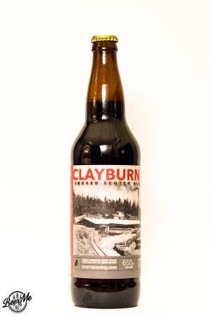 Ravens Brewing Clayburn Smoked Scotch Ale Bottle