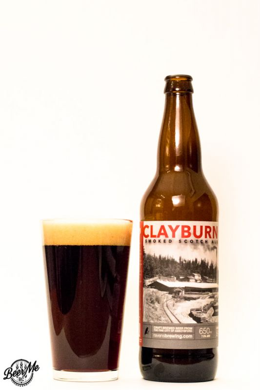 Ravens Brewing Clayburn Smoked Scotch Ale