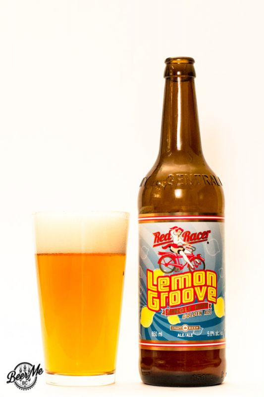Central City Brewing Red Racer Lemon Groove