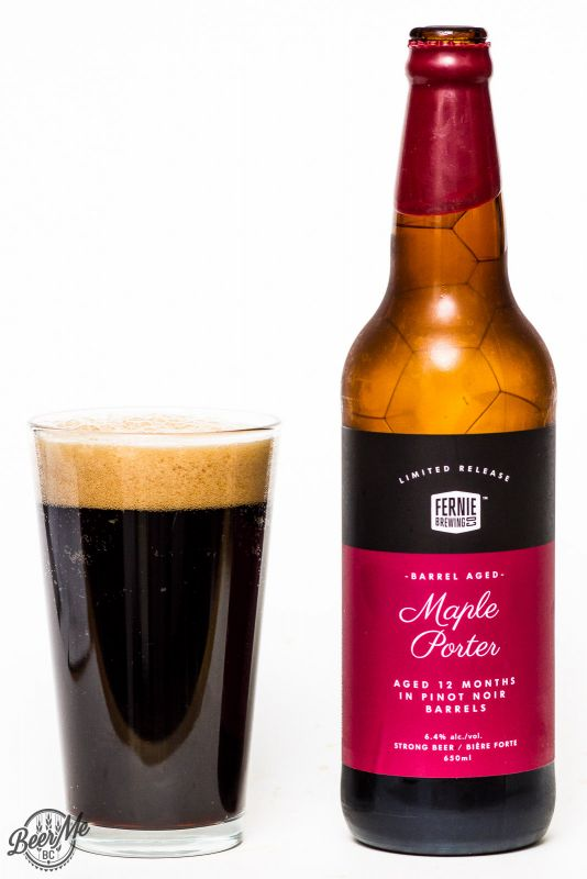 Fernie Brewing Barrel Aged Maple Porter Review