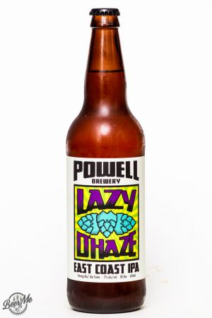 Powell Brewery Lazy D'Haze East Coast IPA Review