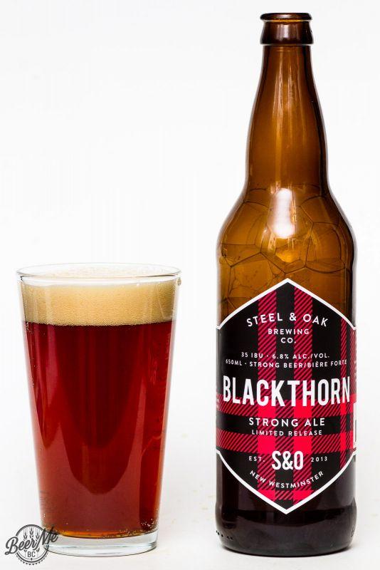 Steel & Oak Brewing Blackthorn Belgian Strong Ale
