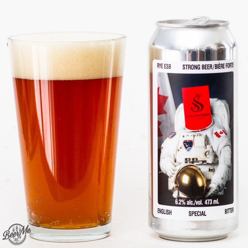 Strathcona Beer Co. - Rye ESB Review