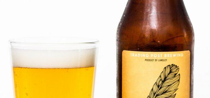 Trading Post Brewing – Dear James S.M.A.S.H Saison