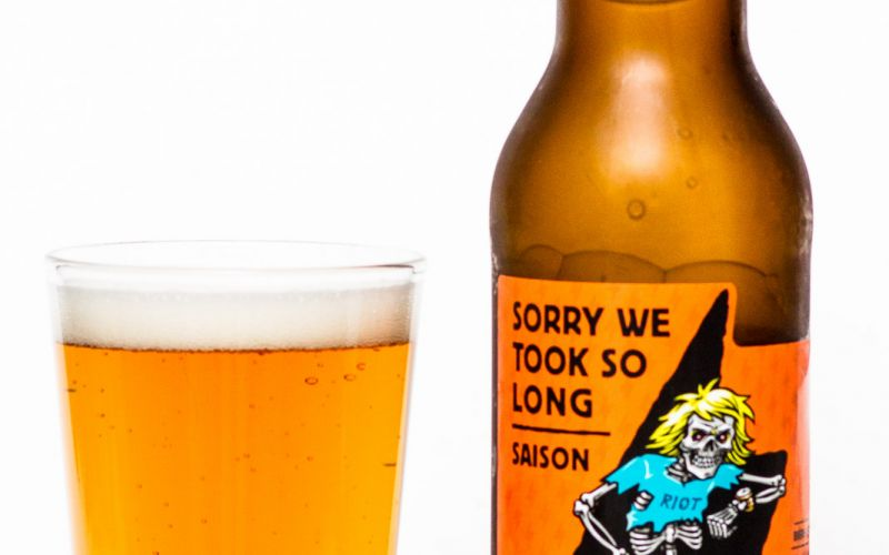 Riot Brewing Co. – Sorry We Took So Long Saison