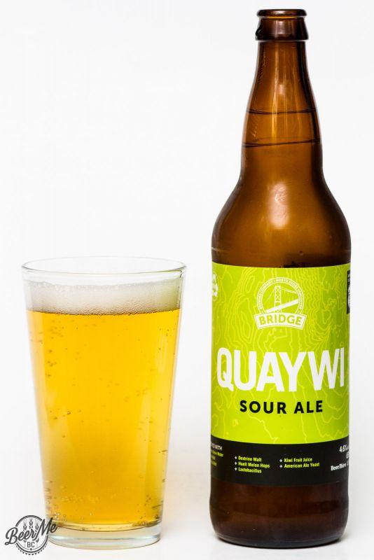 Bridge Brewing Quaywi Sour Ale Review