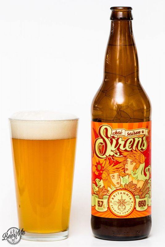 Brittania Brewing Sirens Saison Review